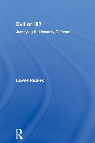 an analysis of the insanity defense in the united states