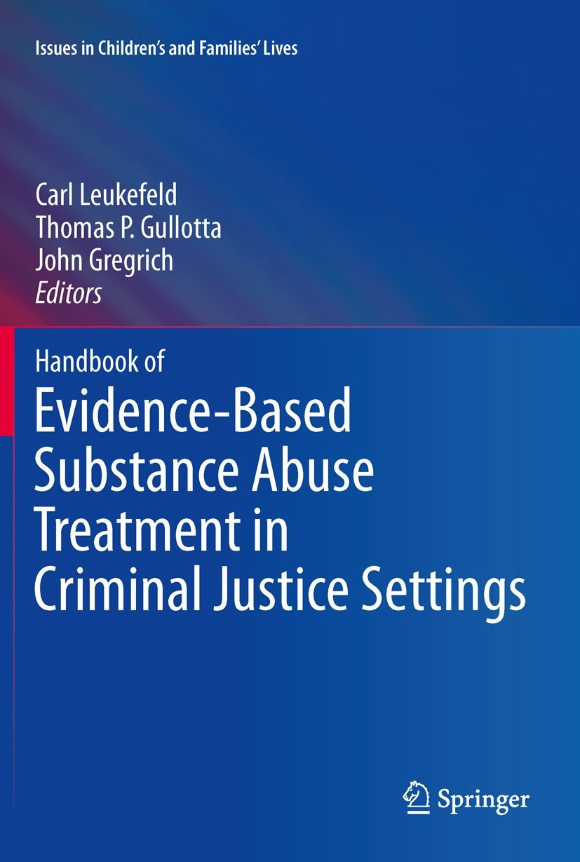 Handbook of Evidence-Based Substance Abuse Treatment in Criminal ...